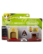 Mario Bros U Micro Land 3 Pack - Ganondorf Castle theme (New)