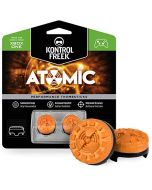 KontrolFreek Atomic for Xbox One Controller   Performance Thumbsticks   2 Mid-Rise Convex   Orange (New)