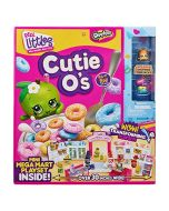 Shopkins Real Littles - HPKG0000 - Cutie O's - Pop Up Shop Game - Mini Mega Mart - New (New)