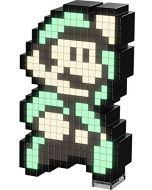 PDP Pixel Pals Nintendo Super Mario 3 Luigi Collectible Lighted Figure, 878-032-NA-LM3 (New)