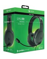PDP LVL50 Wired Headset (Grey) (Xbox One) (New)