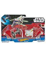 Hot Wheels Star Wars Starships Rebels Ghost vs. TIE Fighter 2-Pack (New)