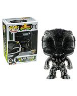 Funko POP Power Rangers Black Ranger Figurine, Exclusive Morphing (New)