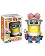 Funko Despicable Me 3-Tourist Jerry (Metallic) Figurine, Multicoloured, 15075 (New)