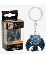 Game of Thrones - Icy Viserion Pocket Pop! Keychain (New)