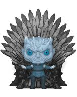 Funko 37794 POP. Deluxe: Game S10: Night King Sitting on Throne Collectible Figure, Multicolour (New)