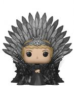 Funko 37796 POP Deluxe: Game S10: Cersei Lannister Sitting on Iron Throne Collectible Figure, Multicolour (New)