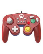HORI Battle Pad Gamecube Style Controller - Mario Edition for Nintendo Switch (New)
