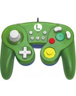 Official Nintendo Licensed Smash Bros Gamecube Style Controller for Nintendo Switch Luigi Version (Nintendo Switch) (New)