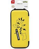 Hori Pikachu Emboss Case - Officially Licensed By Nintendo & Pokemon - Nintendo Switch (New)