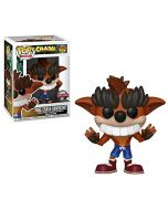 Funko Pop! Fake Teeth Crash Bandicoot 422 Exclusive Figure (New)
