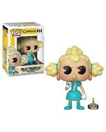Funko 34474 POP Vinyl: Games: Cuphead: Sally & Wind Up Mouse, Multi (New)