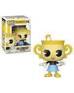 Funko 34476 POP Vinyl: Games: Cuphead: Ms. Chalice, Multi (New)