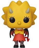 Funko 39721 POP. Vinyl: Animation: Simpsons - Lisa as Devil Collectible Figure, Multicolour (New)