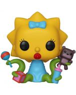 Funko 39727 POP. Vinyl: Animation: Simpsons-Maggie Collectible Figure, Multicolour (New)