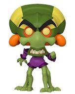 Funko 43345 POP. Vinyl Games: Crash Bandicoot-Nitros Oxide Collectible Figure, Multicolour (New)