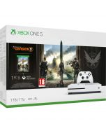 Xbox One S 1TB Console - Tom Clancy's The Division 2 Bundle (Xbox One) (New)