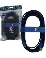 ZedLabz Ultra (Gold Plated) 5M Extra Long USB Charge Cable  (PS4) (New)