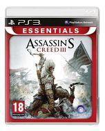 Assassins Creed 3 (Essentials) (PS3) (New)