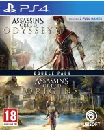 Assassin's Creed Origins + Odyssey Double Pack (PS4) (New)