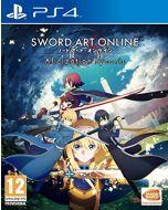Sword Art Online Alicization Lycoris (PS4) (New)