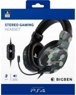 Official Licensed Camo Stereo Gaming Headset for PS4 (New)