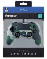 Nacon Compact Wired Controller (Camo Green) PS4 (New)