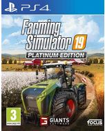 Farming Simulator 19 Platinum Edition (PS4) (PS4) (New)