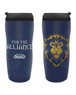 ABYstyle - World of Warcraft - Travel Mug - 35 cl - Alliance (New)