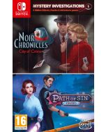 Mystery Investigations 1: Noir Chronicles: City of Crime + Path of Sin: Greed (Nintendo Switch) (New)