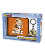 Dragon Ball Z Wallet Gift Set (Wallet + Keyring) (New)
