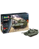 Revell 03306 - T-55AM/T-55AM2B Tank 1:72 Scale (New)