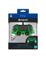 Accessori Playstation4 Nacon Compact Controller Light Edition (Green) (New)