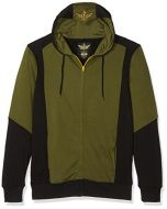 The Legend Of Zelda Green Triforce Hooded zip (Black / Green) (XXL) (New)