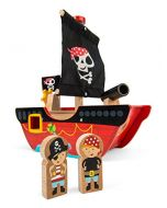 Le Toy Van TV344 Little Captain Pirate Boat Toy (New)