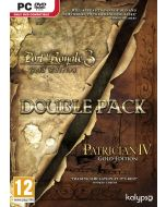 Patrician IV Gold and Port Royale 3 Gold Double Pack (PC DVD) (New)