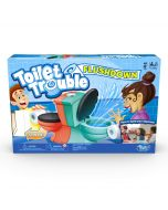 Hasbro Gaming Toilet Trouble Flushdown Kids Game Water Spray Ages 4+ (New)