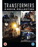 Transformers 1-4 [DVD] (New)