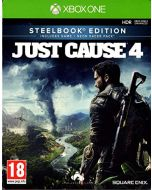 Just Cause 4 Steelbook Edition with Neon Racer Pack (Xbox One) (New)