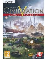 Civilization 5 Game of the Year Edition (PC DVD) (New)
