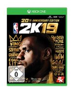 NBA 2K19-20th Anniversary Edition (German Box - Multi Lang in Game) /Xbox One (New)