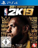 NBA 2K19-20th Anniversary Edition (German Box - Multi Lang in Game) /PS4 (New)