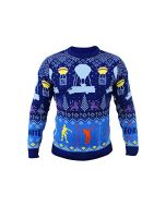 Epic Games Fortnite Official Christmas Xmas Jumper Sweater Kids Large (New)