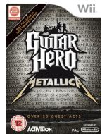 Guitar Hero: Metallica - Game Only (Wii) (New)