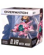 Official Blizzard Overwatch Cute But Deadly D.Va with Mekka Medium Figure (New)