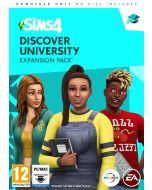 The Sims 4 Discover University (PC Code in Box) (New)