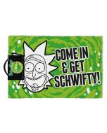 Cartoon Network Rick and Morty, Get Schwifty Doormat, Multi-Colour, 40 x 60 cm (New)