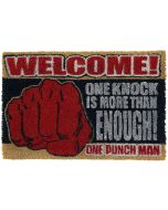 One Punch Man One Knock Door Mat multicolour (New)