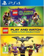 Lego DC Super-Villains Game & Film Double Pack (PS4) (New)