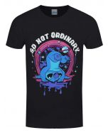 Lilo & Stitch Men's Not Ordinary T-Shirt Black (New)